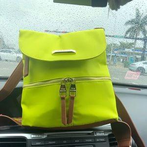 Steve Madden lime green backpack